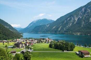 Lake Achensee in Tyrol, Austria